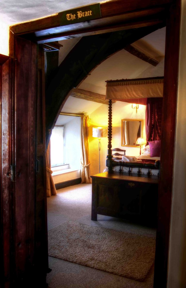 Bedroom at The Oval holiday cottage