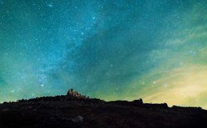 Starry skies over Exmoor
