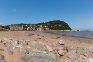 The beach at Minehead