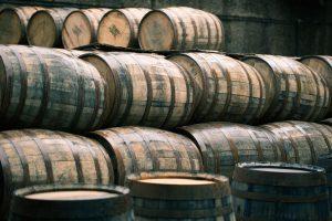 Whiskey hogsheads