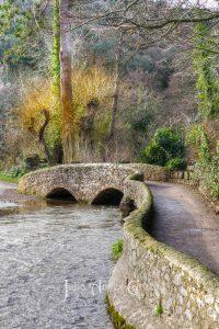 The Gallox Bridge in Dunster