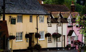Dunster Village houses